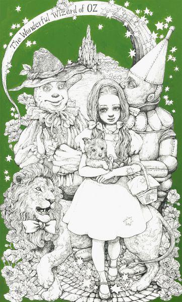 オズの魔法使い : ★ヒグチユウコ★ ガーリーな女の子のイラスト (随時更新) - NAVER まとめ