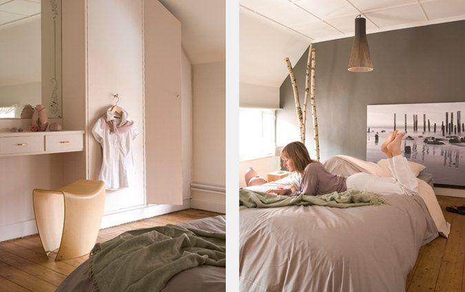 Donkere Wand Slaapkamer : Zeer zachte kleuren voor een volwassen ...
