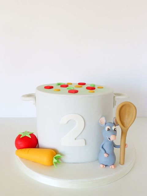 Ratatouille Cake • Bolo Ratatui