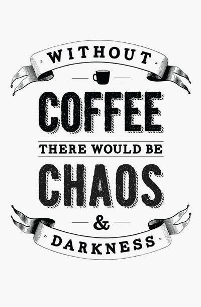 Coffee Print Funny Kitchen Art