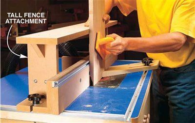 AW extra 06/19/14 - Sopa del ruteador Tabla - Técnicas para trabajar la madera - Carpintero estadounidense