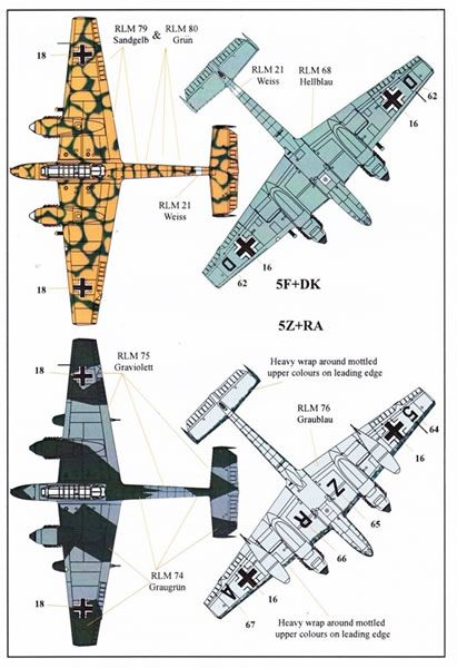 Xtradecal 1/72 scale Luftwaffe Fighter Reconnaissance Decal Review by Mark Davies: Image
