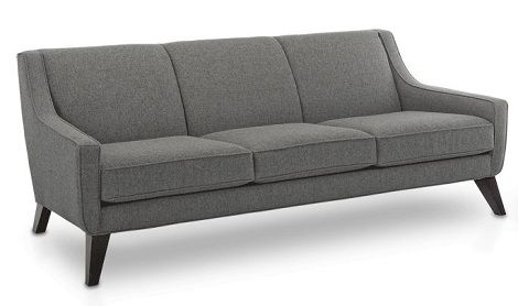 mid century modern loveseat | ... sofa above in gray from younger furniture is the first sofa that i