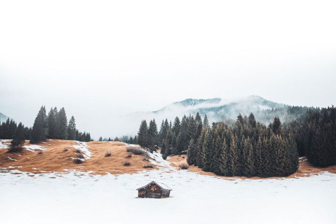 A photographic road trip along the German-Austrian border