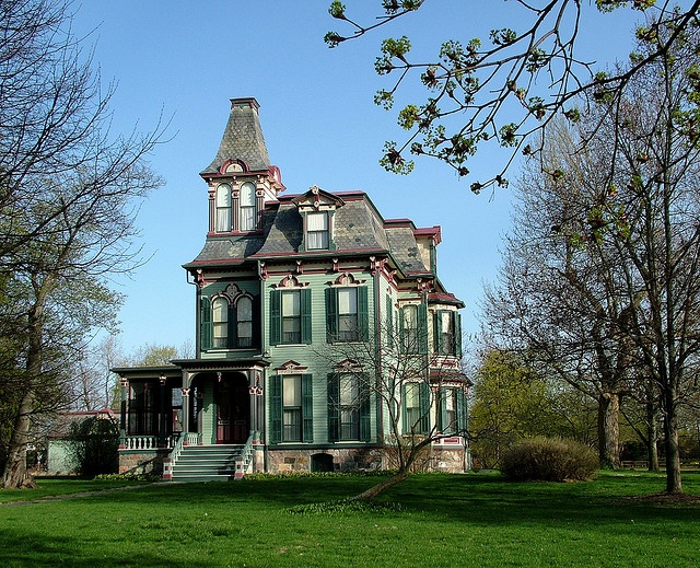 davenport house saline mi a proper mansion the architect was william scott of detroit and it. Black Bedroom Furniture Sets. Home Design Ideas