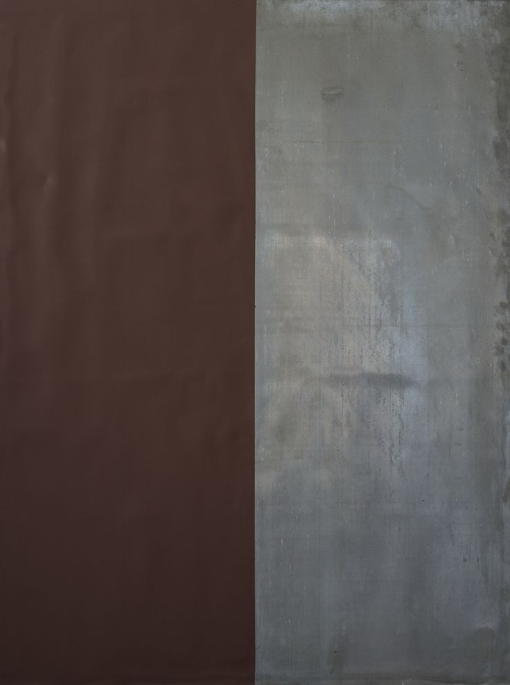 Günther Förg (1952-2013) Sans titre, 1999 Acrylique et plomb sur panneau Signé et daté au dos 120,5 x 90,5 cm   Acrylic and lead on wood; signed and dated on the reverse