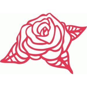 Silhouette Design Store - View Design #74225: rose filigree