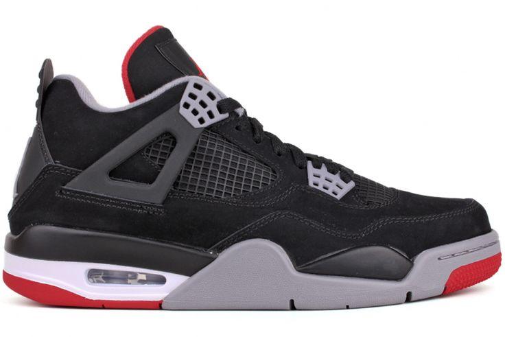 half off 6bf6a 34936 Nike Air Jordan 4 Retro  Bred    Blue Cream. Chaussures ...