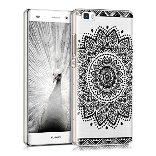 kwmobile Elegante e leggera custodia Crystal Case Design fiore per Huawei P8 Lite in nero trasparente, http://www.amazon.it/dp/B016Q2Y10K/ref=cm_sw_r_pi_awdl_TXCoxb049FF6G