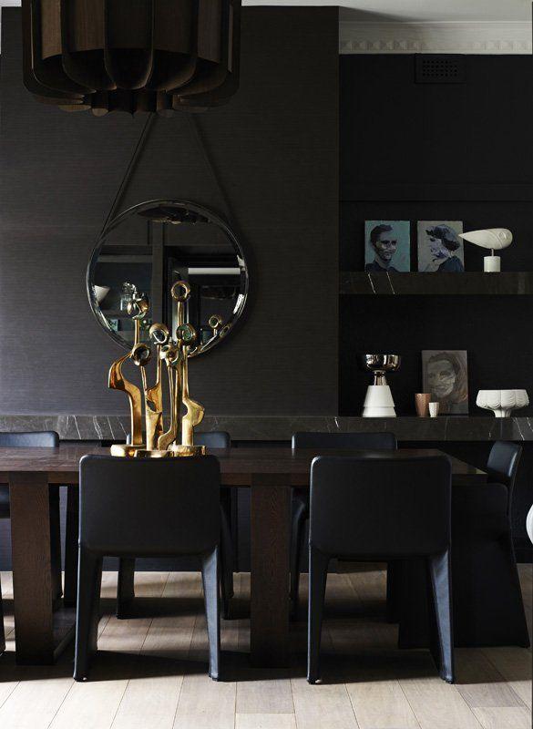 dining room —RCG Residence by Mim Design via @Contemporist .com