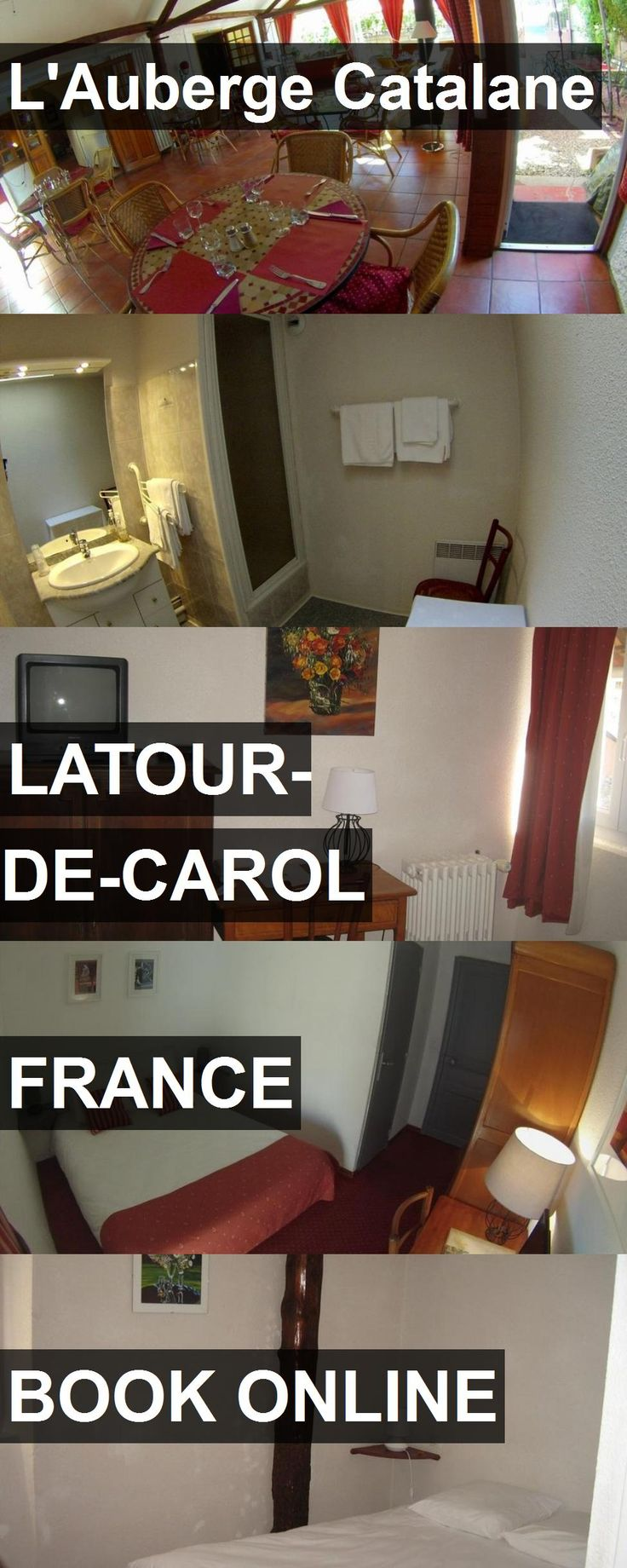 Hotel L'Auberge Catalane in Latour-de-Carol, France. For more information, photos, reviews and best prices please follow the link. #France #Latour-de-Carol #travel #vacation #hotel