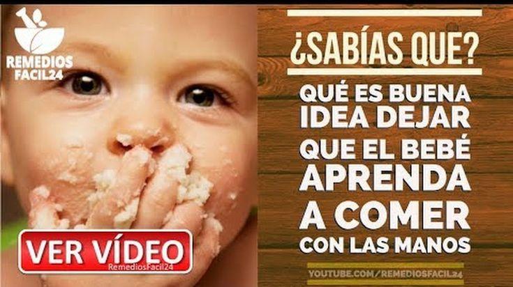 🔴 POR QUÉ ES BUENA IDEA DEJAR QUE EL BEBÉ APRENDA A COMER CON LAS MANOS - 🔴VISITA NUESTRO CANAL EN YOUTUBE👇👇 👉https://goo.gl/PvPC3d Facebook: @Remediosfacil24  #remediosfacil24 #remedioscaseros  #alimentosacidohialuronico #alimentosricosenacidohialuronico #saludnaturalhoy #salud #remedios_caseros #vidaysalud #home_remedies #remediosnaturales #tipssalud #medicinanatural #saludyvida #saludybienestar