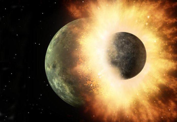 Potvrzeno: Měsíc vznikl po interplanetární srážce se Zemí před 4,5 miliardami let
