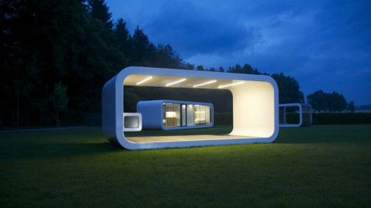 Coodo studio has created a series of modular units that can be sold separately or coupled together to offer more space and flexibility | by Gizmag