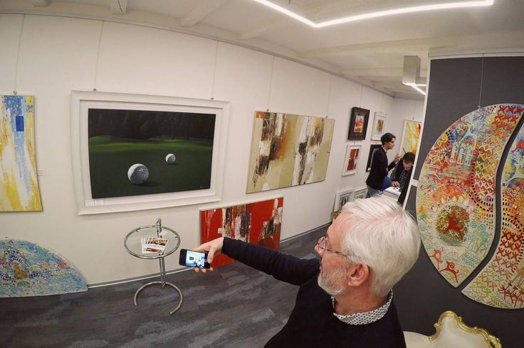 Technical experiments  #fluidofiume #gopro #golfcourse #golf #paolobrugiolo #michelecirciello #paolosemenzato #iphone7 #artgallery #oilpainting #fineartgallery #fineart #trieste #triestesocial #italiangallery #italianartist #iphone7 #selfiestick #art#vivotrieste