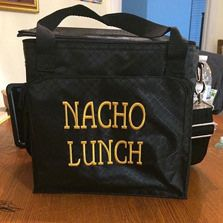 Thirty-One Gifts - personalization-Nacho Lunch!  Around the clock thermal #4847, great for everyday work lunch bag or a special picnic!  Join my FB. group,a place for my Customers and new future Customers!  NO 31 Consultants please! Thanks https://www.facebook.com/groups/221123648035423/