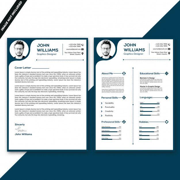 Freepik Graphic Resources For Everyone Download Resume Resume Curriculum Vitae