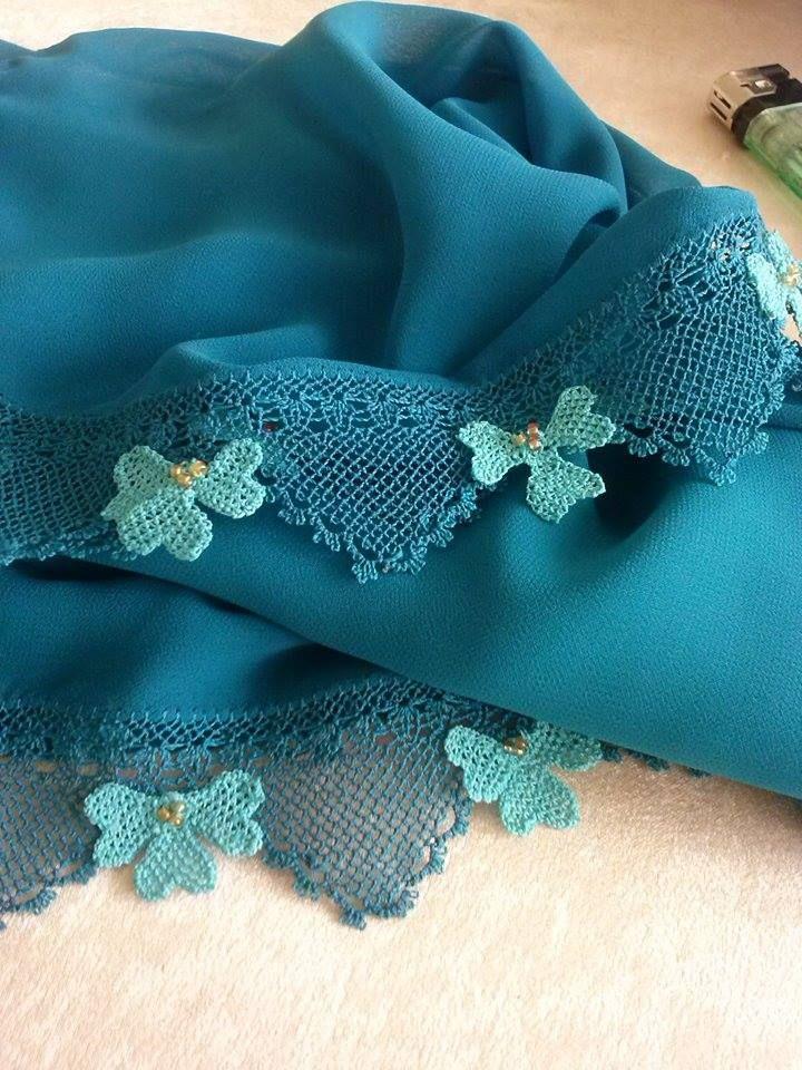 Oya Turkis needle lace