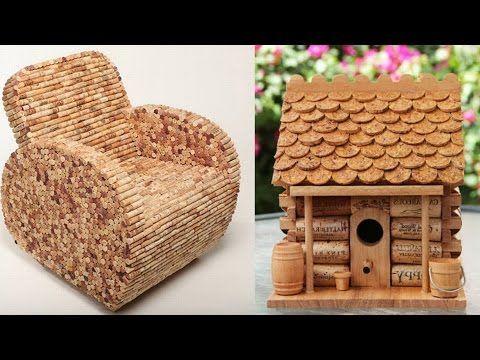 Поделки из винных пробок.Crafts from wine corks. - YouTube