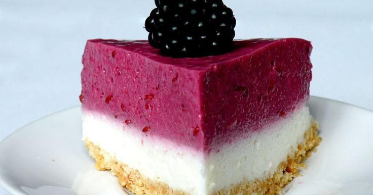 Bake&Taste: Sernik na zimno z jeżynami