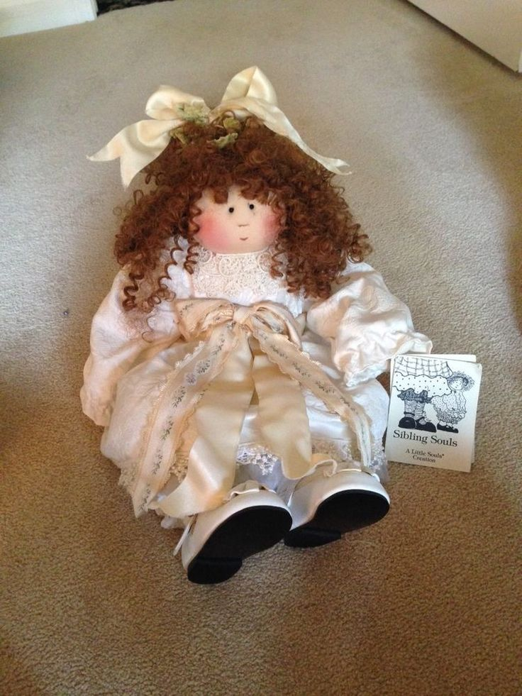 Little Souls 1999 Bridesmaid Doll #37 out of 500 - Signed