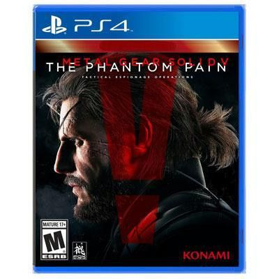 Metal Gear Solid V: The Phantom Pain PS4 Video Game