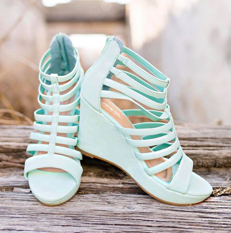 March Mint Wedges