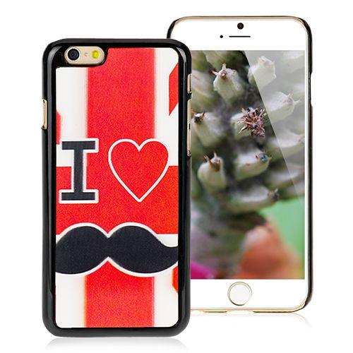 Mustache Design Cover for iPhone 6 #iphone6 #case #protective #cover #iphonecase #newiphone #cellz #mustache #design