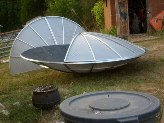 36 Best Images About Satellite Dish Ideas On Pinterest