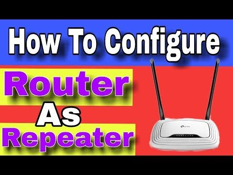 How To Configure Router as Wifi Repeater | It tipa | Tp link