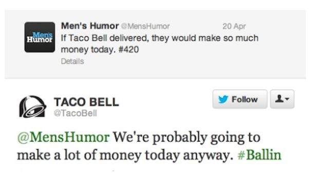 Most companies try to keep it formal and professional, but some brands know how to use it like a pro. Seriously, who runs the Taco Bell Twitter?