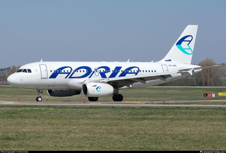 S5-AAR Adria Airways Airbus A319-132