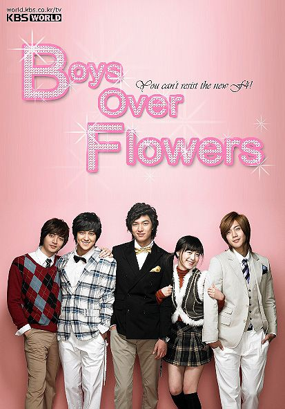 Love love love this drama..Boys Over Flowers/Boys Before Flowers starring Goo Hye Sun, Lee Min Ho, Kim Hyun Joong, Kim Bum, and Kim Joon