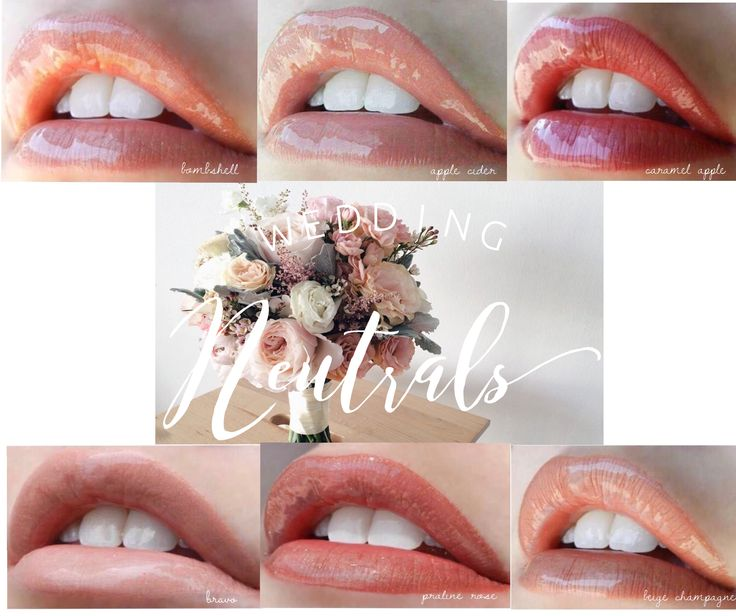 LipSense neutral colors #wedding #bride #lipsense