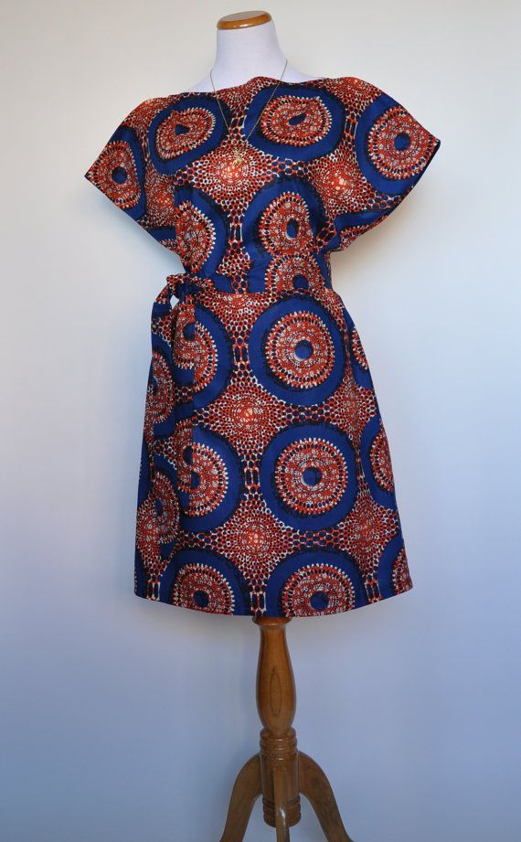 New The Paige Dress African Print 100 Holland by ChenBCollection