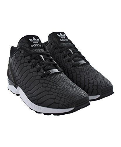 Adidas Mens Sneaker  ZX Flux Black Iridescent Synthetic Size 9.5 ** Find out more about the great product at the image link.