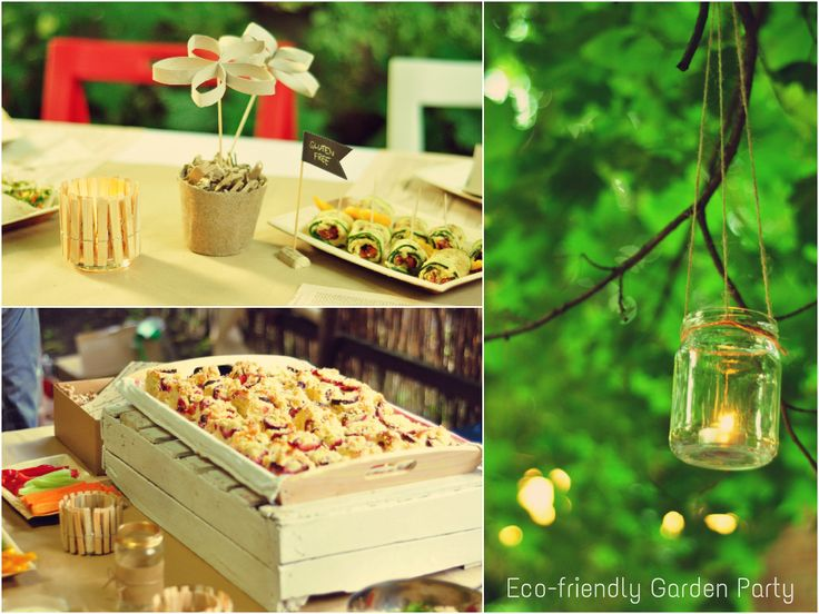 Eco-friendly Garden Party
