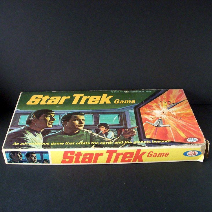 STAR TREK board game IDEAL 1967 rare collectible