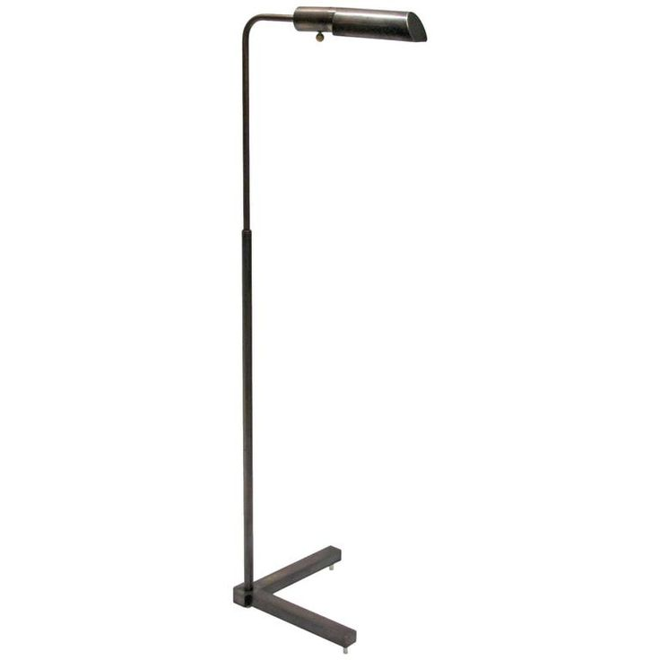 Bronze pharmacy floor lamp by jh lighting wonderful natural patina this great old lamp would look