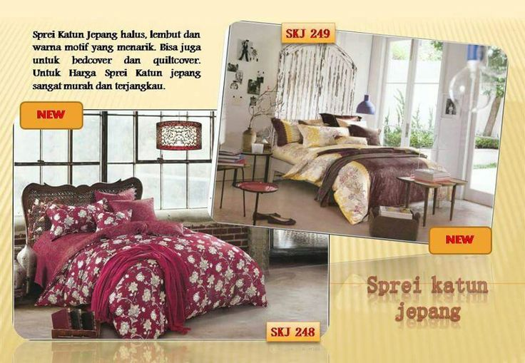 #sprei katun jepang motif baru di www.spreibed.com