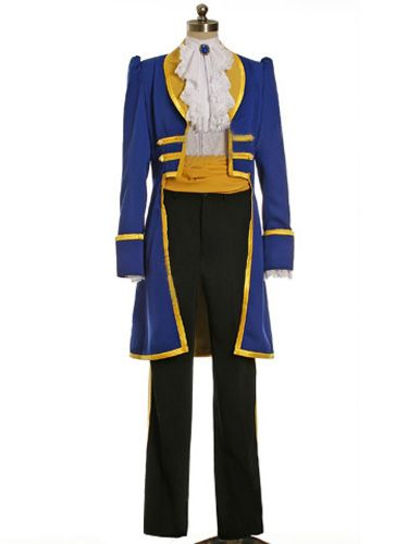 Movie Male Cosplay The Beast Costume From Diseny Beauty And The Beast Prince Adam Halloween Outfit