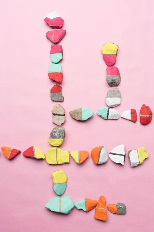 Piedras dominó | Kireei, cosas bellas