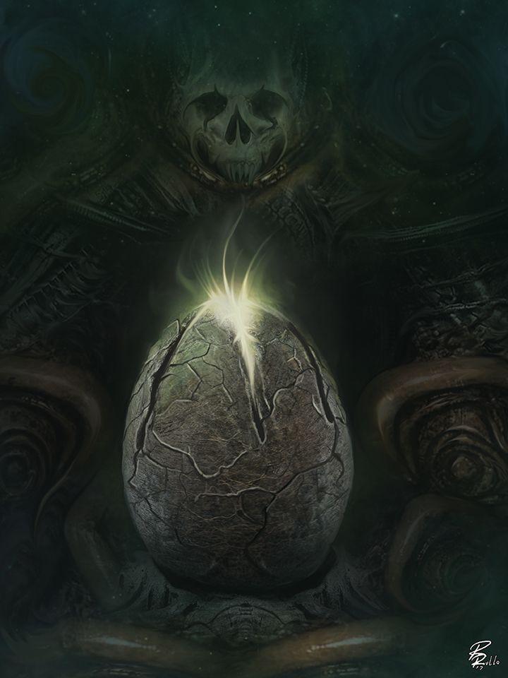 Alien: Ovomorph ! by shiprock.deviantart.com on @DeviantArt