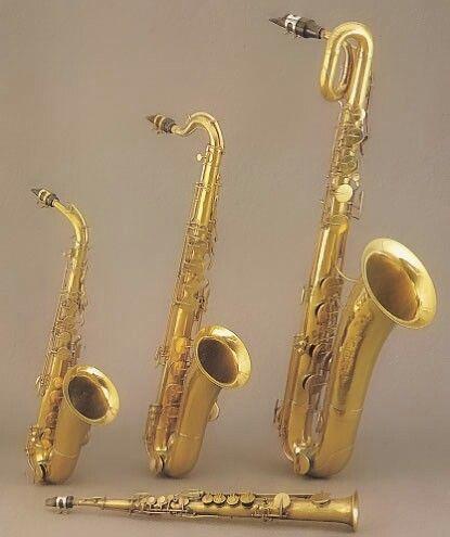 Alto, Tenor, Bari and Soprano Saxophones