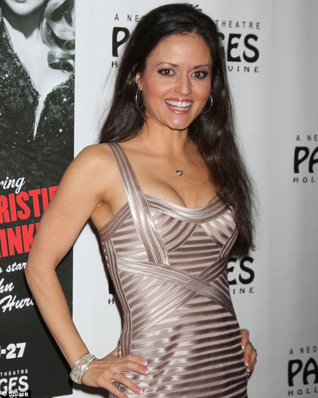 "I <3 Winnie Cooper, super hot math nerd. ""Looking better than ever: Danica McKellar looked lovely at the opening night of 'Chicago' in Los Angeles"""