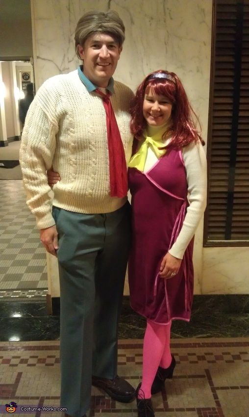 Fred Jones and Daphne Blake - Homemade costumes for couples