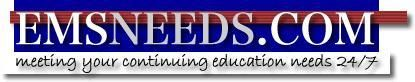 1st Responder CONTINUING EDUCATION REFRESHER RECERT EMS-CE: EMSNEEDS LIFTING AND MOVING