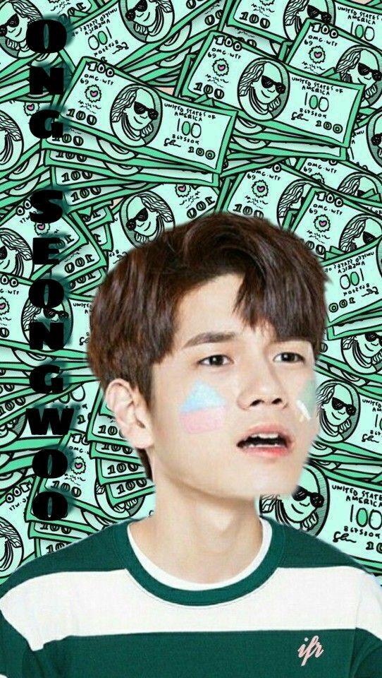 Wanna one ong seongwoo