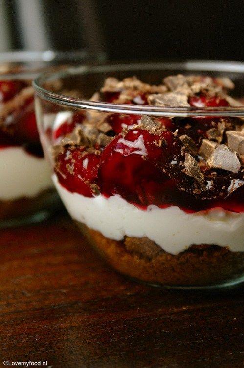 Monchou taart in een glas - Lovemyfood.nl