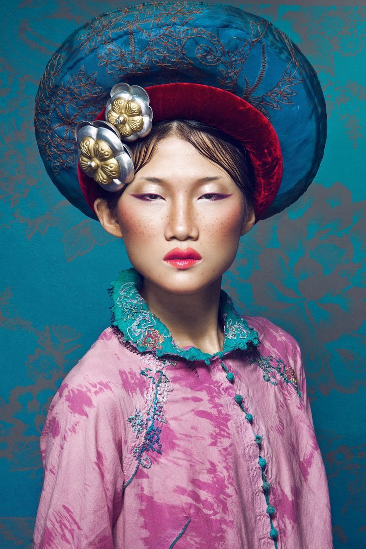Make up : D.Y (Derek Yuan) - Hair Style : Daniel Wong - Model : Kha My Van - Stylist : Kim Tuyen - Photographer : Quang Khue